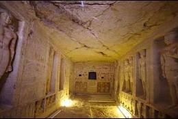El hallazgo de una tumba única Egipto