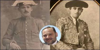 Julián Mecos, Heliodoro Ábalos 'Carbonerito' y el ministro socialista José Luis Ábalos.