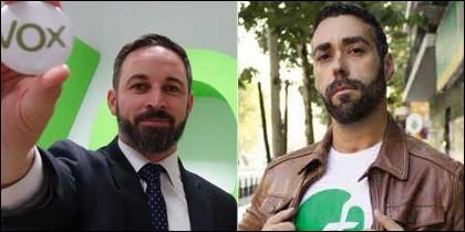 Santiago Abascal y Rubén Sánchez, al que se le acaba el chollo.