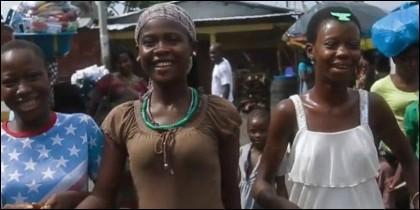 Niñas, violencia y prostitución infantil en Africa.