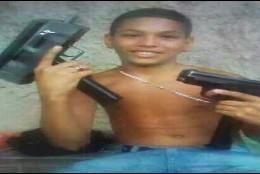 El niño de 13 años asesinado en Venezuela, 'El Brayan' Alexander Rico.