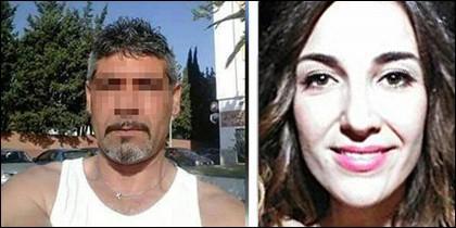 La asesinada Laura Luelmo y Luciano M. el principal sospechoso.