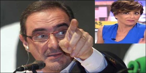 Carlos Herrera y Sonsoles Onega en la COPE.