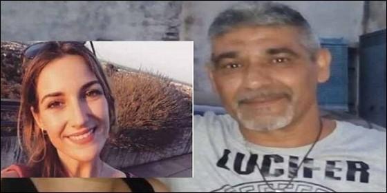Laura Luelmo, lavíctima, y Bernardo Montoya, el asesino.