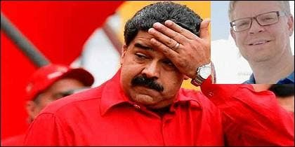 Nicolás Maduro y Matthias Krull