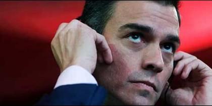 Pedro Sánchez, oídos sordos a la prisión permanente revisable.