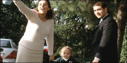 Rocío Carrasco, su hija y Flores