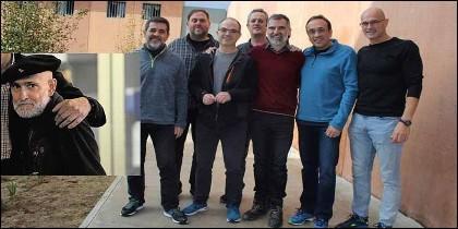 El etarra Bolinaga y los golpistas catalanes presos.