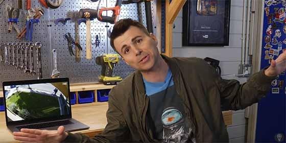 Mark Rober, el exingeniero de la radio convertido en youtuber.