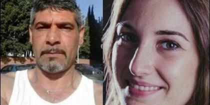 Laura Luelmo y Bernardo Montoya, su asesino.