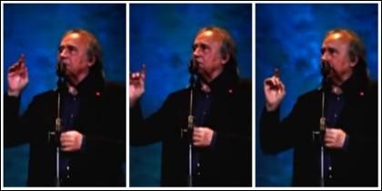 Joan Manuel Serrat, duro con el espectador que le exigió que dejase de cantar en español.