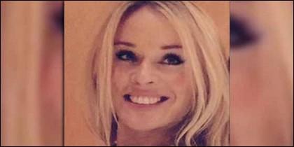 Prue Carter Ronbinson, la mujer que, según 'The Sun', fue la amante de Mourinho durante 8 años.