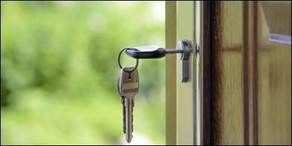 Cerradura y llaves