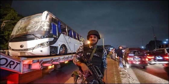 Cuatro personas murieron en explosión en autobús de turistas en Egipto
