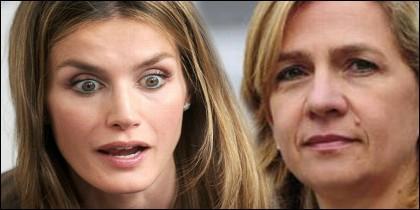 Cristina y Letizia