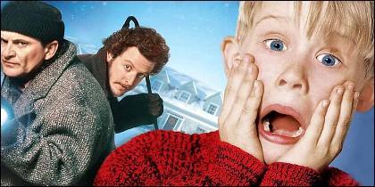 Macaulay Culkin y los cacos de 'Solo en Casa'.