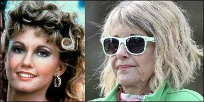 Olivia Newton-John, antes y ahora.