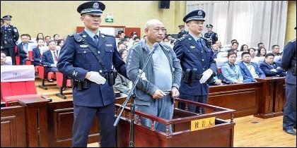 Gao Chengyong, el 'Jack el destripador' chino, condenado a muerte.