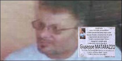 El pedófilo Giuseppe Matarazzo, asesinado al salir de la cárcel.