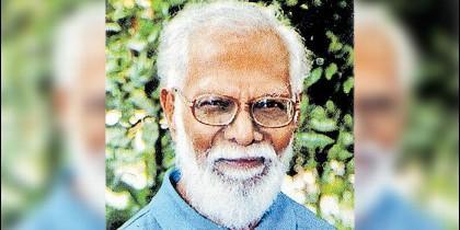 El padre Samuel Rayan, sj