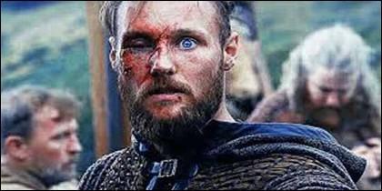 Ubbe (Jordan Patrick Smith) en 'Vikingos'.