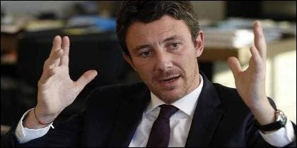 El portavoz del Gobierno francés, Benjamin Griveaux.