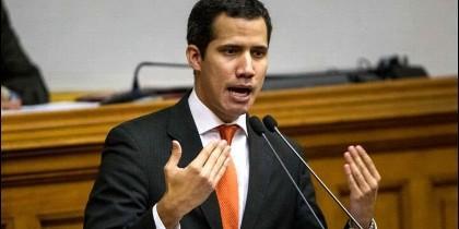 Juan Guaidó, nuevo presidente de la Asamblea Nacional de Venezuela.