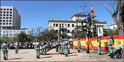 La Asociación de Antiguos Caballeros Legionarios de Barcelona.