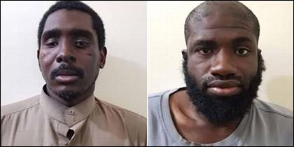 Zaid Abed al-Hamid y Warren Christopher Clark, los dos estadounidenses terroristas del ISIS capturados por las milicias kurdas.
