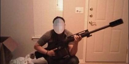 """Un exmilitar, solo identificado como """"Ivan"""", que trabajaba para Galván y el cartel de Sinaloa."""