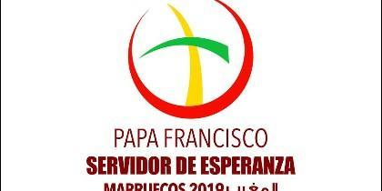 Logo de la visita del Papa a Marruecos