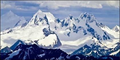 El 'Nevado Mateo' en los Andes.