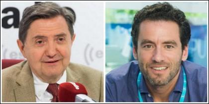 Federico Jiménez Losantos y Borja Semper.