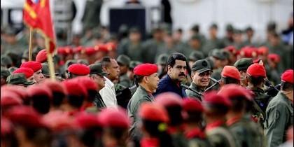 Maduro con el Ejército