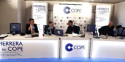 Carlos Herrera, este jueves en Madrid.