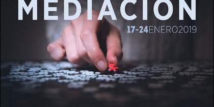 Cartel 'Semana Europea de la Mediación'