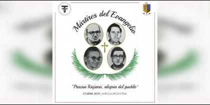 Logo de la beatificación de los mártires riojanos el próximo 27 de abril
