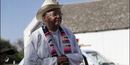 Padre Roy Snipes, el cura 'vaquero' que se enfrenta a Trump
