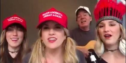 Seguidoras de Donald Trump