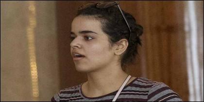 La joven saudí Rahaf Mohammed Al-Qunun.