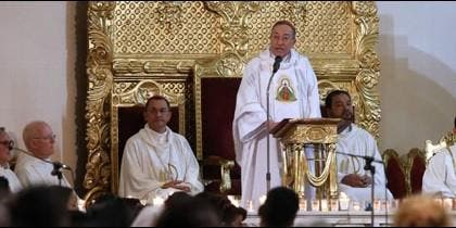 Misa del cardenal Óscar Andrés Rodríguez