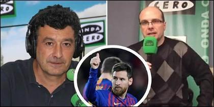 Alfredo Martínez y MisterChip a la gresca por un gol de Messi.