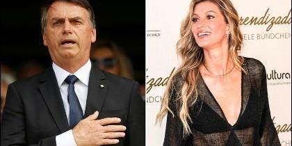 Jair Bolsonaro y Gisele Bundchen