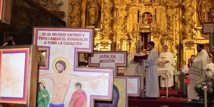 Eucaristía de inicio de la Misión Diocesana en Jaén