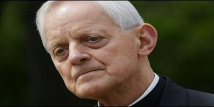 El administrador apostólico de Washington, cardenal Donald Wuerl