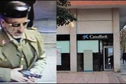El atracador de bancos disfrazado de guardia civil.