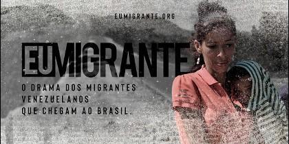 Campaña Cáritas Brasil #EuMigrante
