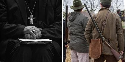 El obispo cazador expresó su profundo pesar