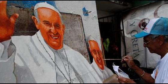 Cristóbal Rodríguez, el abuelo panameño que pinta al papa