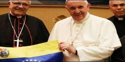 Francisco y obispos venezolanos